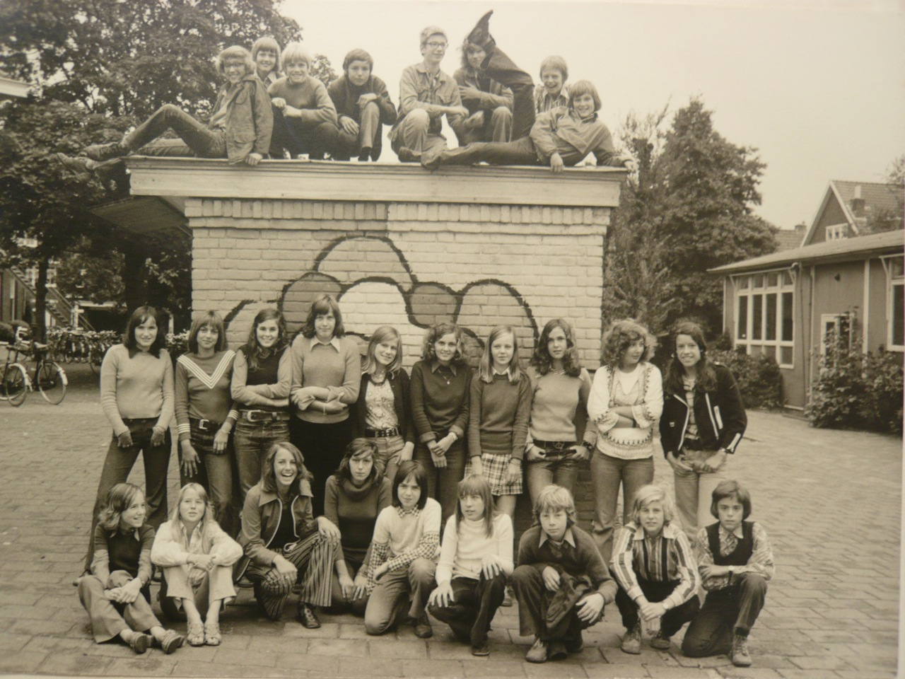 Ronald Jan Heijn - 2 Gymnasium Kennemer Lyceum 1973